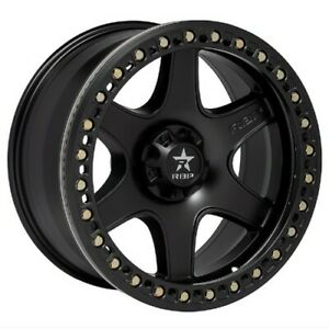 17x9 Rbp 50r Cobra Black W black Ring Wheels 5x5 10mm Set Of 4