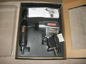 New In Box Craftsman Air Tools 3 8 Ratchet 1 2 Impact Wrench Never Used