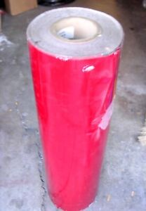 Red High Intensity Reflective Sheeting 36 X 50 Yd
