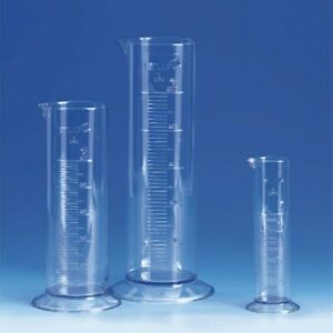 Brandtech V64291 Short form Graduated Cylinders San 100ml Pack Of 12