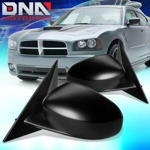 For 2006 2010 Dodge Charger Magnum Pair Oe Style Powered Door Mirror Replacement