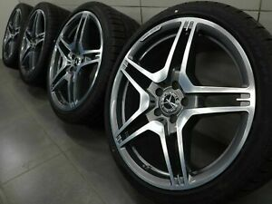 19 Inch Winter Tyres Mercedes Cls63 E63 Amg C218 W212 A2124012702 Winter