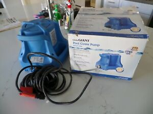 Little Giant Apcp 1700 Automatic Swimming Pool Cover Submersible Pump 1 3 hp