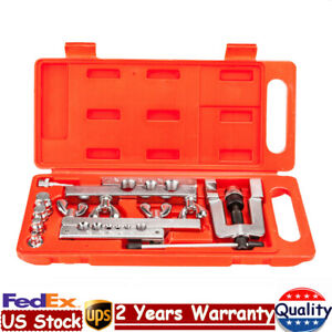 Hvac Flaring And Swaging Swage Tool Set Copper Tubing Tool With 5 Swage Adapters