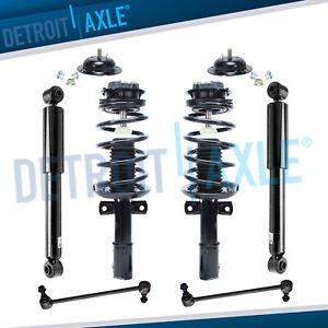 Saturn Ion Struts Assembly Shock Absorbers Sway Bar Links For Front Rear
