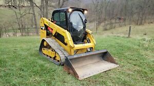 2015 Caterpillar 239d Compact Rubber Track Loader Construction Hydraulic Machine