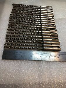 pack Of 20 Bits 1 4 X 4 X 6 Masonry Drill Bit Sds Plus Made In Germany
