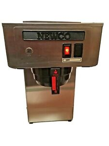 Newco Pour Over Commercial Coffee Maker Cafe Brewer Dispenser Stainless New 600