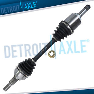 Front Left Cv Axle Shaft Assembly For 2007 2016 Acadia Buick Enclave Traverse