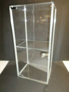 Acrylic Counter Top Store Display Cabinet W Lock And Key Nos