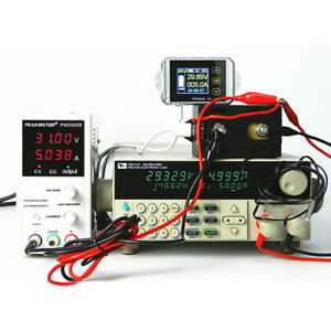 Color Screen Coulomb Counter Digital Ammeter Amp Battery Monitor Counter