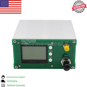 Fa 2 1hz 6ghz Frequency Counter Meter Kit Statistical Function power Adapter Us