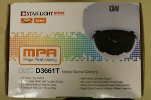 Digital Watchdog Dwc d3661t Indoor Dome Camera Analog And Utp