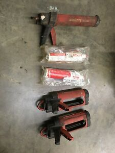 Hilti Tools Md2000 Md2500 2 Hit ice 371292 Injectable Mortar Anchor Systems