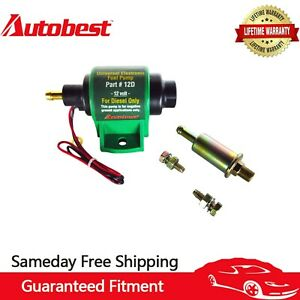 Autobest Universal Micro Electric Fuel Transfer Diesel Pump 35 Gph 4 7psi 12d