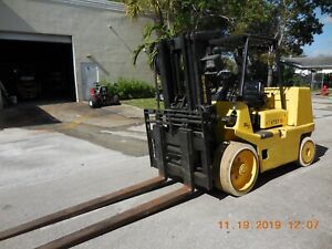 hyster Riggers Forklift diesel 15500 Pound Capacity s155xl2