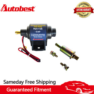 Autobest 12s Universal Electric Fuel Pump 12v Application 35 Gph Gasline 4 7 Psi