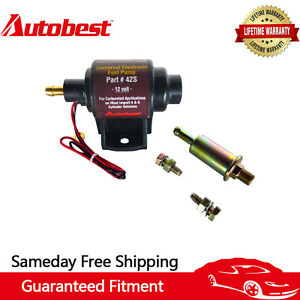 Autobest 42s Low Pressure 2 3 5 Psi Universal Micro Electric Fuel Pump 12v