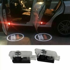 2pcs Led Logo Light Shadow Projector Car Door Courtesy Laser Audi A5 Q5 Q7 S3 R8
