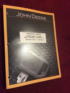 John Deere 310sk Backhoe Loader Operator s Manual Omt305678