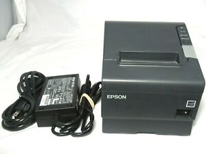 Epson Tm t88v M244a Pos Thermal Receipt Printer Usb With Power Adapter