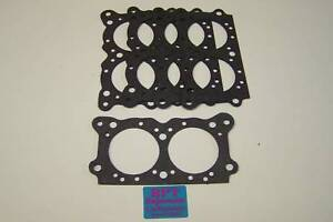 10 Holley 350 2 Barrel Throttle Plate Gaskets 7448 Aed Demon Qft Carbs 108 74