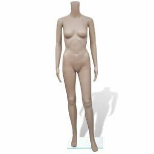 63 Female Flexible Full Body Figure Model Realistic Display Without Head Us