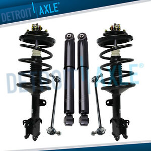 Front Struts Rear Shock Sway Bar For 1999 2000 2001 2002 2003 2004 Honda Odyssey