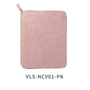 Pink Zipper Cover For Memo Pad Notebook notebook Included