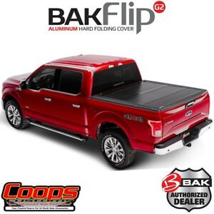 New Bakflip G2 Tri Fold Hard Tonneau Cover Fits 2015 2020 Ford F150 5 5ft Bed