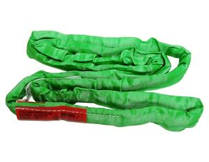 Usa Domestic 20 Green Endless Round Lifting Sling Crane Rigging Recovery