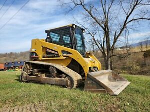 2004 Caterpillar 277b Compact Rubber Track Loader Construction Hydraulic Machine