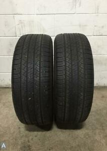 2x P255 55r18 Michelin Latitude Tour Hp Zp 7 8 32 Used Tires