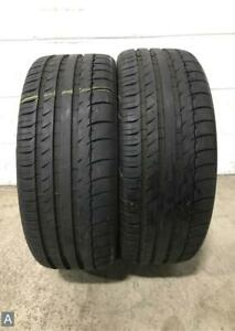 2x Take Off P225 40r18 Michelin Pilot Sport Ps2 Mo 10 32 Used Tires