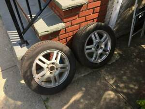 2 Ford Wheels And Tires 15inch