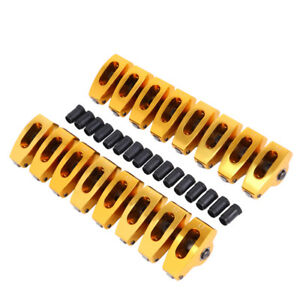 289 302 351w 5 0 Small Block Sbf Ford 1 7 Aluminum Roller Rocker Arms 7 16 Ratio
