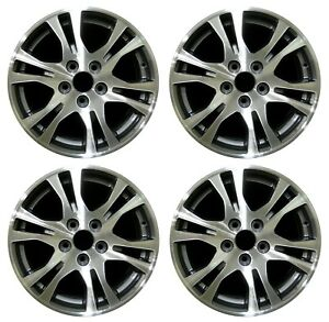 17 Honda Odyssey 2011 2012 2013 Factory Oem Rim Wheel 64019 Charcoal Set