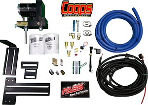 Fass Titanium 165gph Fuel Lift Pump System Fits 98 5 04 Dodge Ram Cummins Diesel