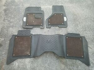 2013 18 Dodge Ram Crew Cab 1500 2500 3500 Long Horn Edition Floor Mats Mopar Oem
