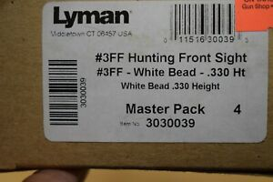 Lyman #3FF Hunting Front Sight .330 3 8quot; Dovetail #3030039 $17.99