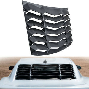 Rear Window Louver Sunshade Cover Scoop Vent Hardware For Chevy Camaro 2016 2019