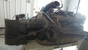 1966 Corvair Monza 110 Engine W Automatic Transmission Running 65 69 2 G2 1