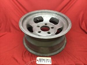 Vintage Fenton 15x7 Slotted Mag Wheel Early Chevy Ford Truck 5x5 5x5 5