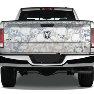Camo Camouflage Pickup Grunge Usa Vinyl Wrap Tailgate Truck Decal Graphic Skulls
