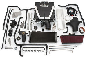 Edelbrock 1592 E Force Stage 3 Pro Tuner Systems Supercharger Kit Fits Corvette