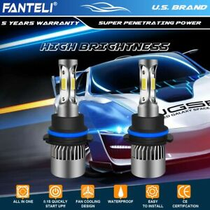 2105w 315750lm All In One Led 9004 Headlight Set Hi Lo Beam 8000k Ice Blue Power