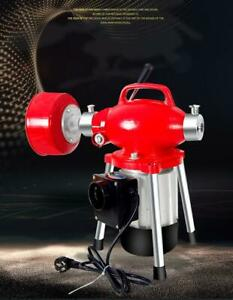 Electric Drain Cleaning Machine Kitchen Toilet Pipe Dredging Machine 45m 220v