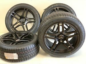 20 Mercedes Ml320 350 450 500 550 Amg Style Rims Wheels Tires Benz 5x112 Set 4