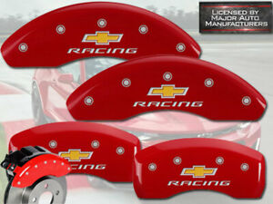 2018 2020 Chevy Equinox Front rear Red Racing Mgp Brake Disc Caliper Covers 17