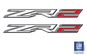 2017 2018 2019 2020 Chevy Colorado 4wd V6 Zr2 Bed Side Decal Stickers Set Of 2